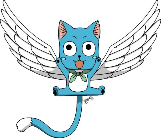 Happy The Cat from fairy tale | Happy - Fairy Tail by shanyhi on deviantART