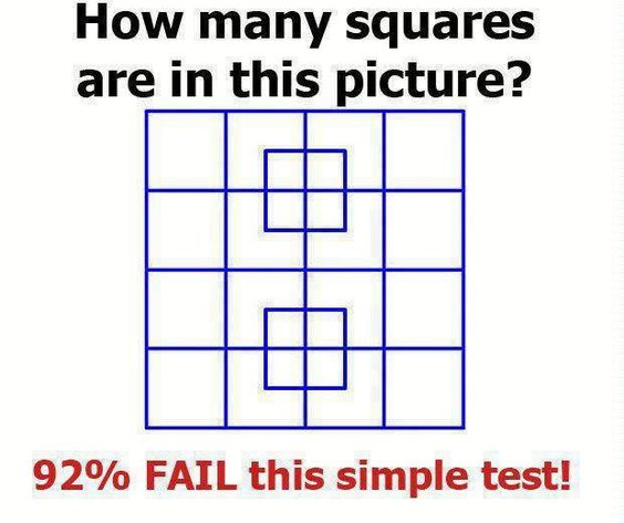 Can You Solve This Viral Math Puzzle That Is Boggling: How Many Squares? Fun Brain Teaser !!