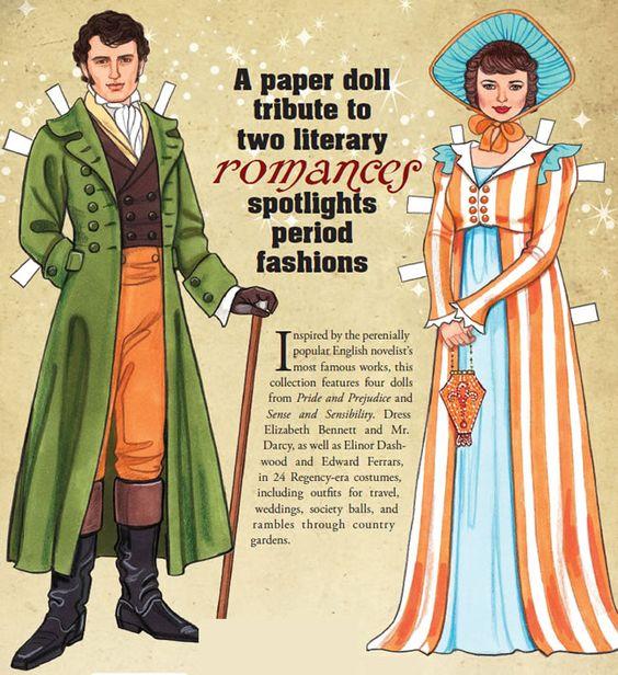 Dover Publications Jane Austen Paper Dolls: Four Classic Characters