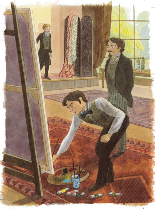 by emma chichester clark from the picture of dorian gray folio  by emma chichester clark from the picture of dorian gray folio edition i like this book very much bookslandia chichester books and films