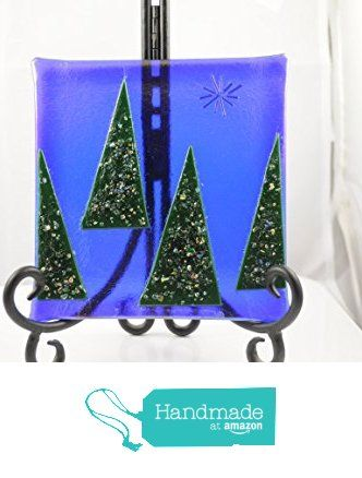 Iridescent Trees from The Glass Shamrock http://www.amazon.com/dp/B017OL5NNQ/ref=hnd_sw_r_pi_dp_AVrswb1ZEQYNQ #handmadeatamazon