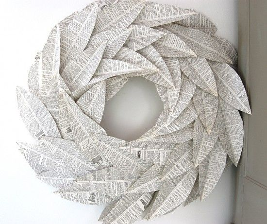 Decorating With Book Pages | VM designblog Global: