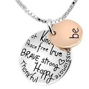 Be Inspirational Necklace by MyFashionVille on Opensky