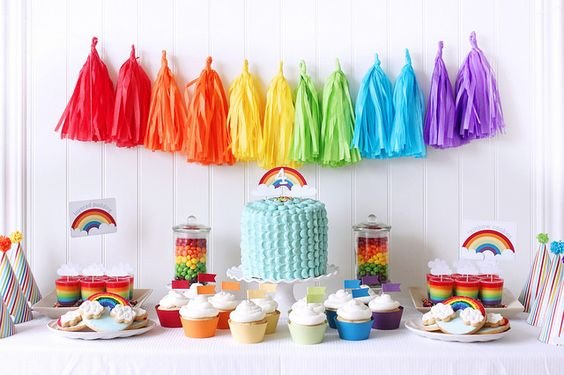 rainbow party by mom2sofia, via Flickr