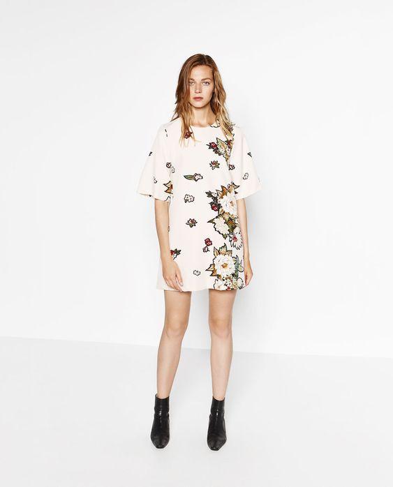 FLORAL PRINT DRESS-DRESSES-WOMAN | ZARA Switzerland