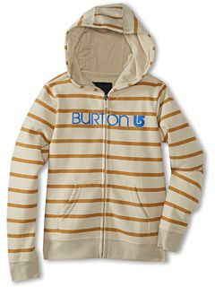 Burton Kids Her Logo Full Zip Hoodie (Big Kid)