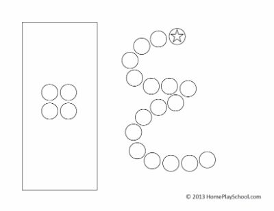 Free Printable: Arabic Numbers 1-10 Do-a-Dot Pages | Free ...