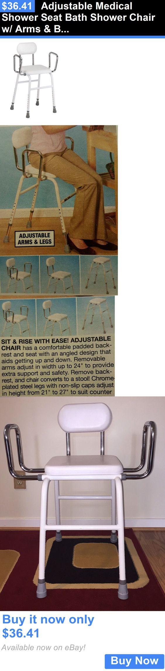 Shower and Bath Seats: Adjustable Medical Shower Seat Bath Shower ...