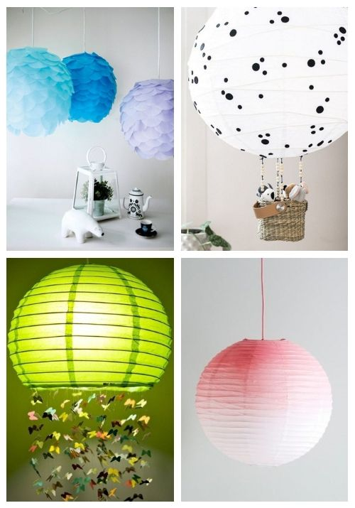 20 cool ways to hack ikea regolit in 2020   Lampshades