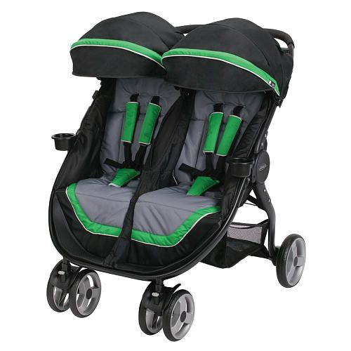 "Graco FastAction Fold Duo Click Connect Stroller - Fern - Graco - Babies ""R"" Us"