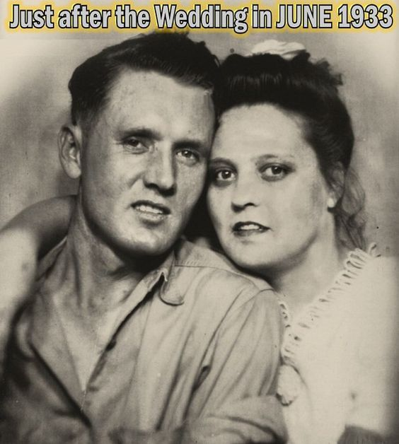 Elvis Presley's parents Wedding Picture.....1933: