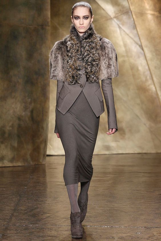 Donna Karan Fall 2013 RTW - Review - Fashion Week - Runway, Fashion Shows and Collections - Vogue - Vogue:
