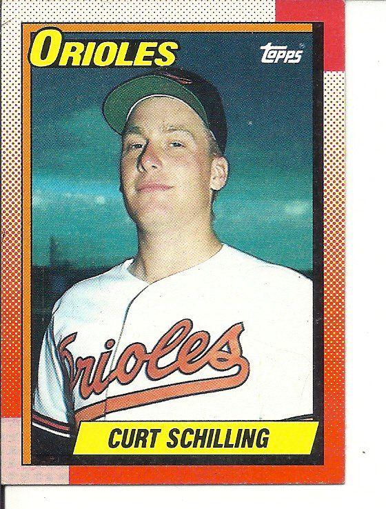 Bs 1 1990 Topps 97 Curt Schilling Baseball Cards Pittsburgh Pirates Baseball Pirates Baseball