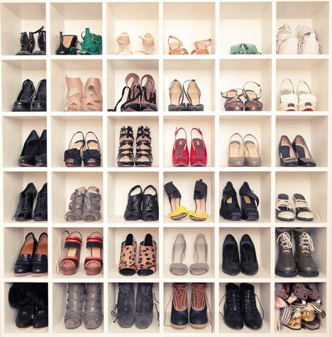 organized shoes=heaven.