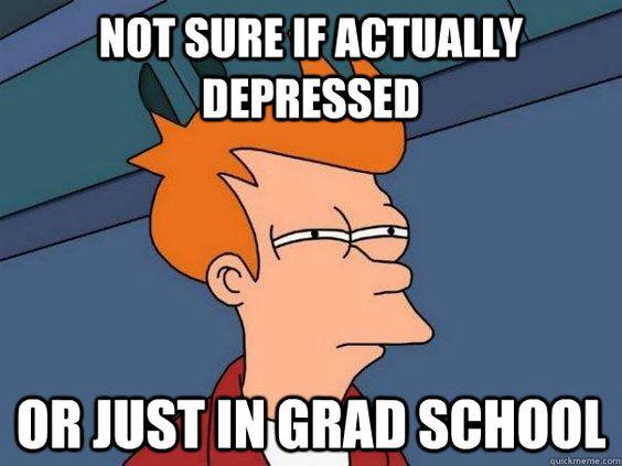 Graduate school confusion?