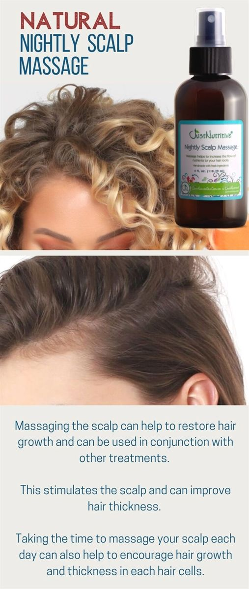 Just Nutritive Productsthis Stimulates The Scalp And Can Improve Hair Thickness Hair Restoration Thick Hair Styles Hair Help