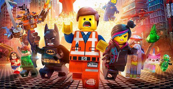 """Imagem do filme """"Uma Aventura Lego"""" que está em cartaz aqui no Taguatinga Shopping! Confira a programação: http://www.taguatingashopping.com.br/cinema/"""