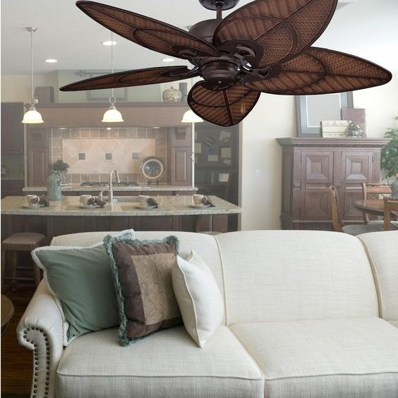 Emerson Fans Batalie Breeze 52-Inch Outdoor Ceiling Fan - Venetian... ($349) ❤ liked on Polyvore featuring home, outdoors, outdoor decor, outside ceiling fans, outdoor patio decor, outdoor garden decor, bronze ceiling fan and bronze outdoor ceiling fan