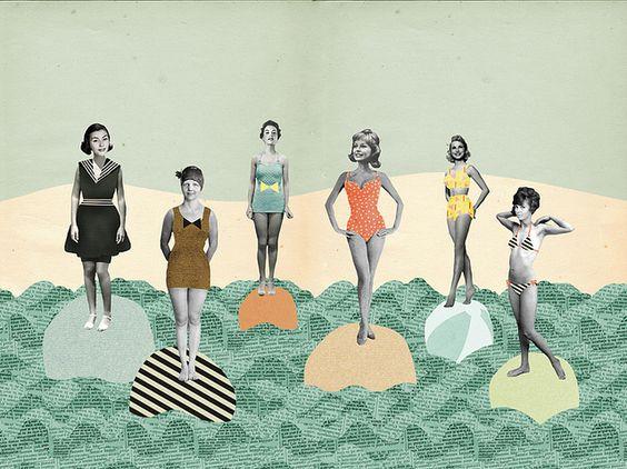 The bikini timeline by Ma + Chr