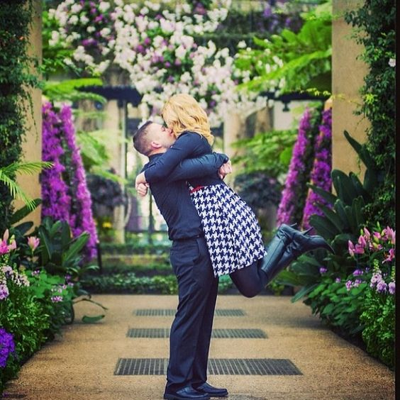 Many couples have made their love story a little more beautiful by making it a #LongwoodStory. #regram from @L a-fin-du-monde.fr Share your Longwood proposal story & photos with us, using #LongwoodStory!