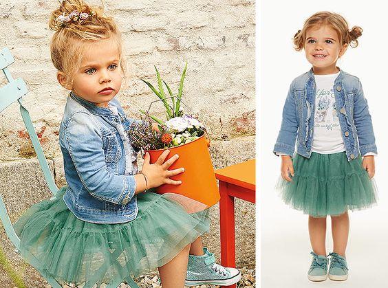Una gonna di tulle e la tua bimba si sentirà subito una piccola principessa. Noi abbiamo deciso di abbinarla a …