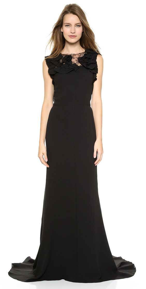 Nina Ricci Sleeveless Gown | SHOPBOP