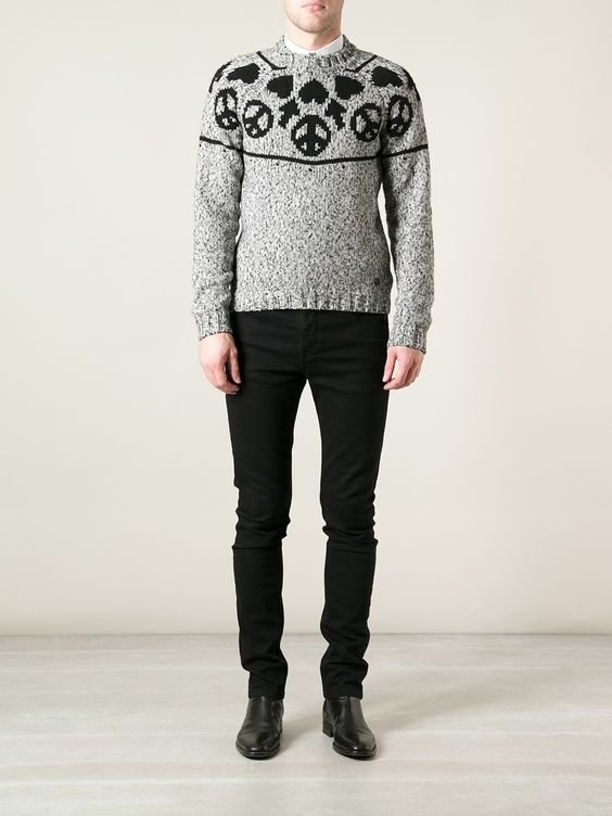 Moschino Motif Detail Jumper - Capsule By Eso.