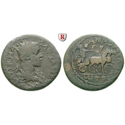 Römische Provinzialprägungen, Kilikien, Anazarbos, Severus Alexander, Tetrassarion 229/230 (Jahr 248), f.ss: Kilikien, Anazarbos.… #coins