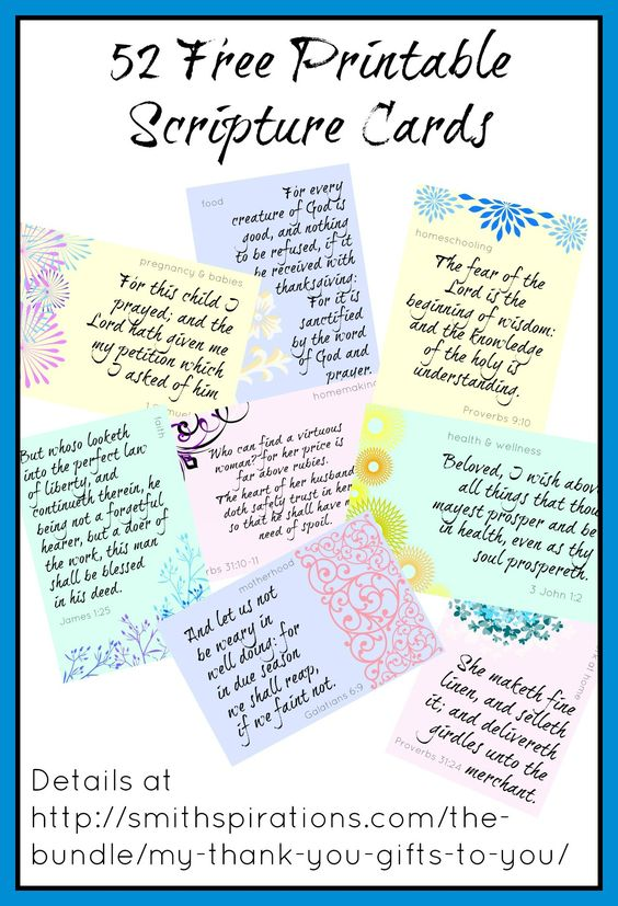 It's just an image of Inventive Free Printable Scripture Cards