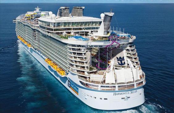 El Harmony of the Seas en 10 fotos