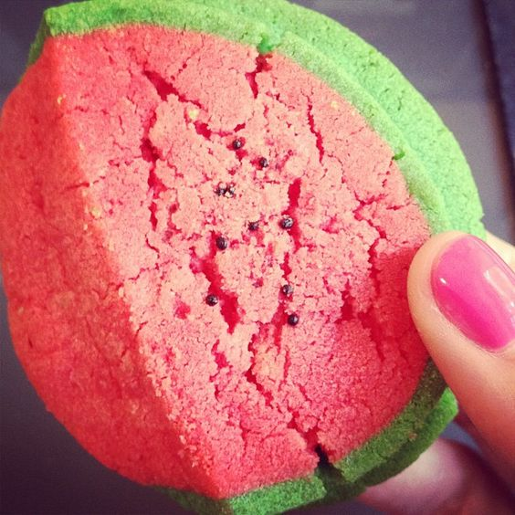 Watermelon cookies from our favorite place! Good Bones, Great Pieces