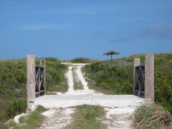 Golf cart and bike path to Atlantic beach ~ www.buttonwoodreserve.com