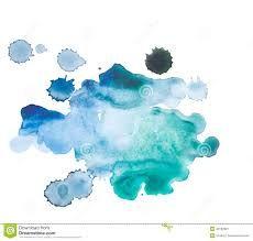 Bildergebnis für blue aquarelle