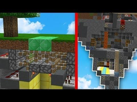 Secret Minecraft Chest Rooms Minecraft Skyblock With Images