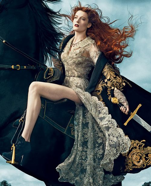 Florence Welch from Florence + The Machine