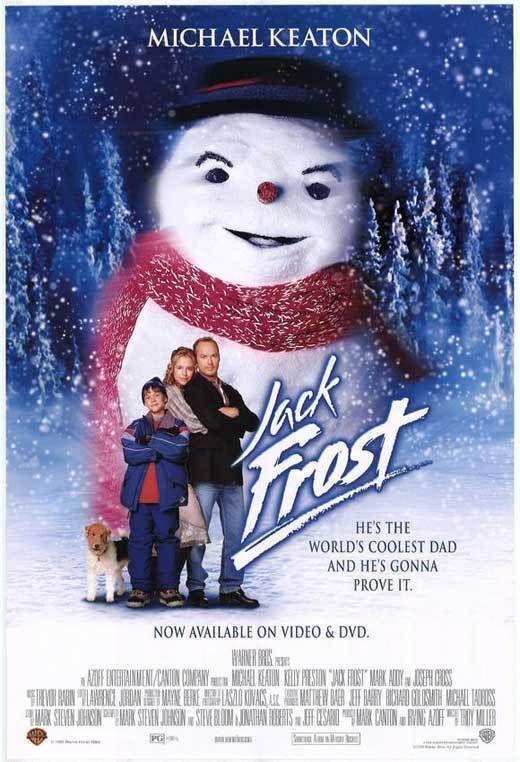 Jack Frost Movie Poster 27x40 B Michael Keaton Kelly Preston Joseph Cross Mark Ebay Jack Frost Movie Kids Christmas Movies Best Christmas Movies