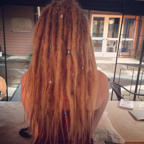 I have wanted dreads like my whole life, and I finally did them this week! I absolutely love them!