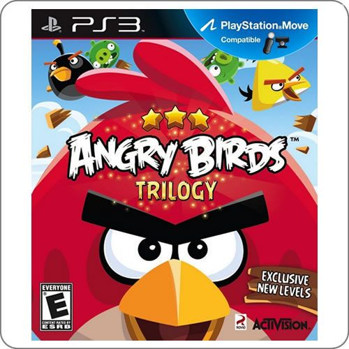 chegou: PS3 Angry Birds Trilogy R$149.90