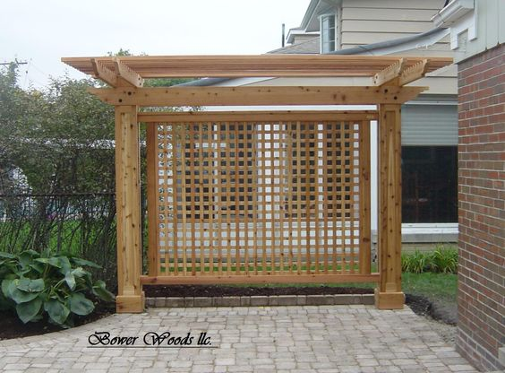 trellis designs wonderful to use as screening or simple accents