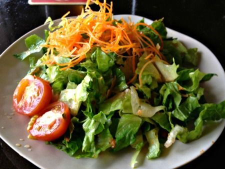 $2 Salad from Pao Town in Coral Gables.