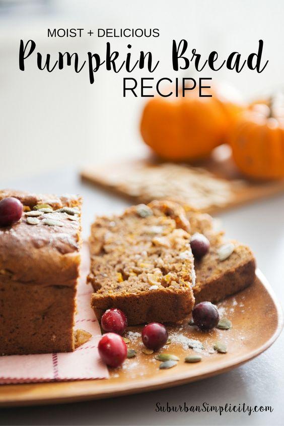 Super Moist) Pumpkin Bread | Recipe | Pumpkin Bread, Pumpkin Bread ...