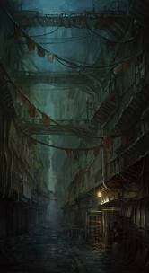 dark fantasy architecture - Google Search