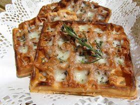 Los fogones de Ana Sevilla: Gofres de pizza (o wafles)