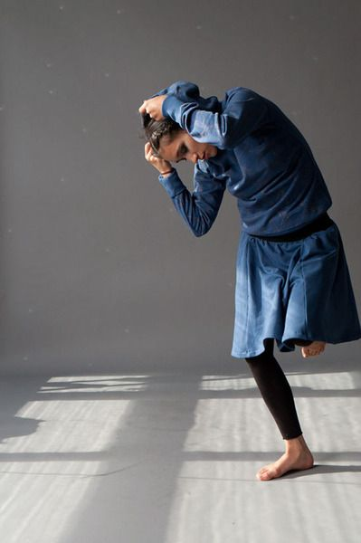 INDIGO BLUE SKIRT von Ken Panda - Organic Clothing Made in Berlin auf DaWanda.com