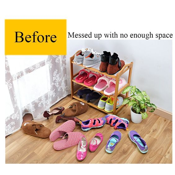 Shoe Storage for Small Spaces - Buy at Amazon