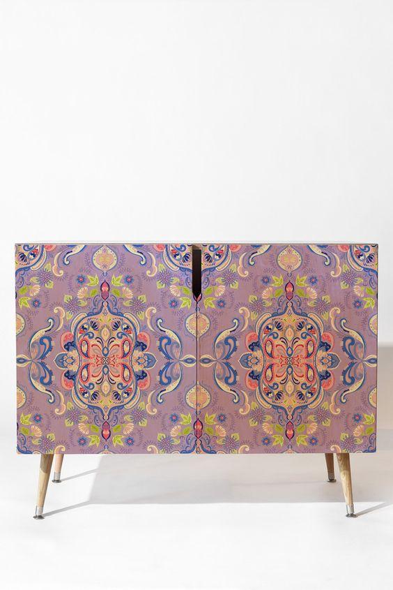 Pimlada Phuapradit Mirror Motif Credenza | DENY Designs Home Accessories