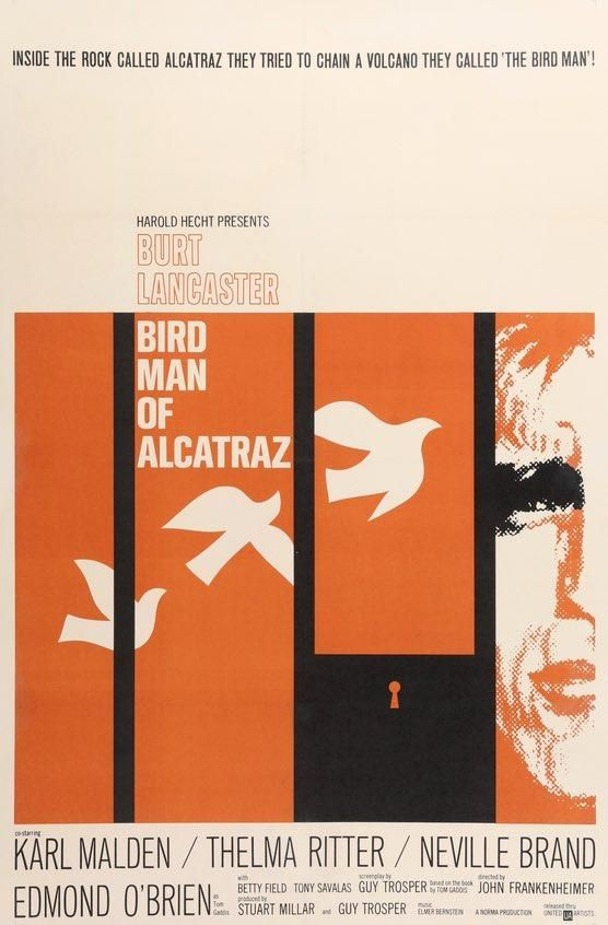 Birdman Of Alcatraz 1962 Original Movie Posters At Original