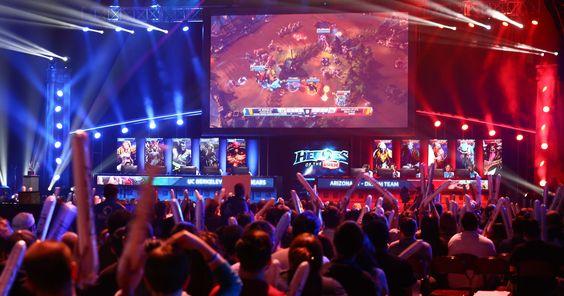 Big players enter $747M 'eSports' market #Tech #iNewsPhoto