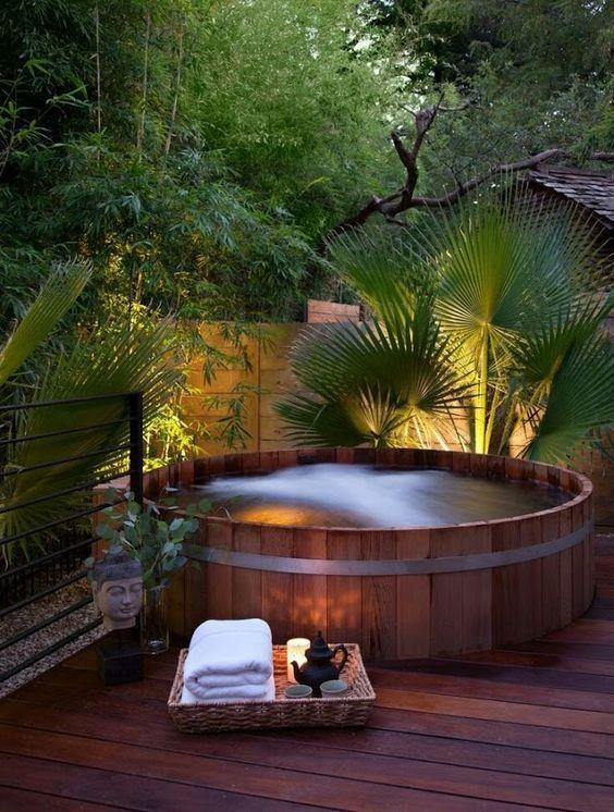 Outdoor Jacuzzi Ideas Diy Schwimmbad Whirlpool Garten Schwimmbader