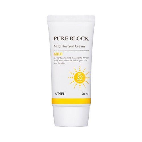 Pure Block Mild Plus Sun Cream Spf32 Pa Shop Sun Cream Pure
